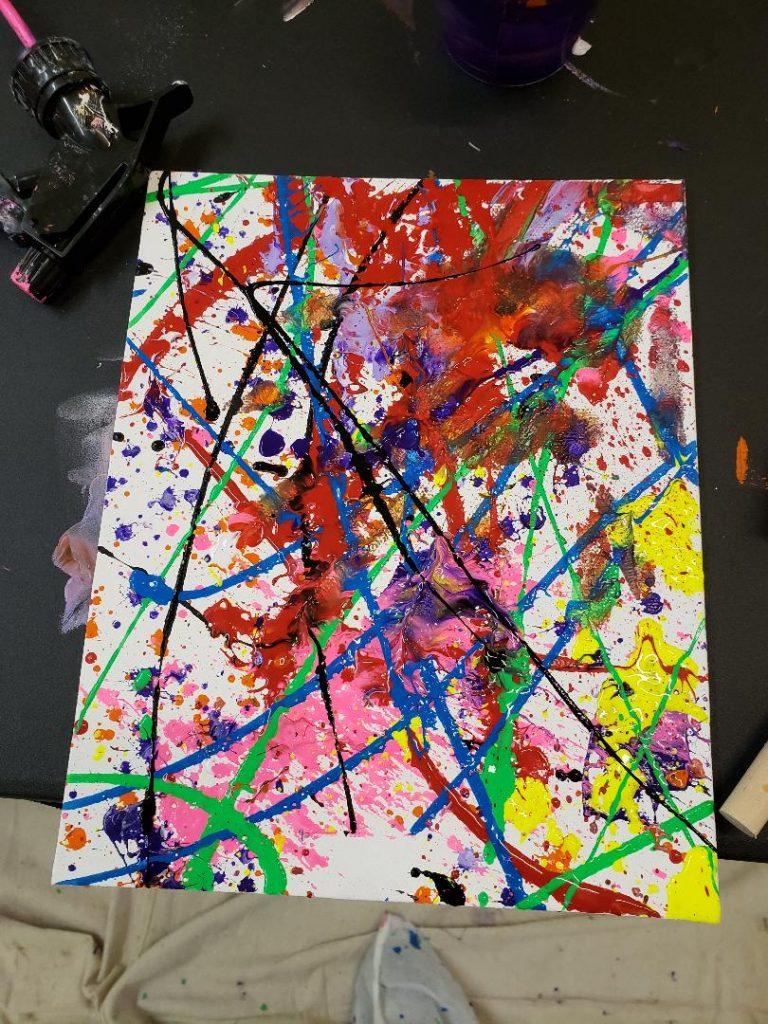Splatter Paint